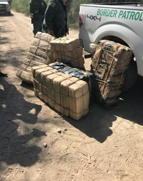 Border Patrol seized nearly 1,000 pounds of marijuana in the Rio Grande Valley from Aug. 17 to Aug. 20.