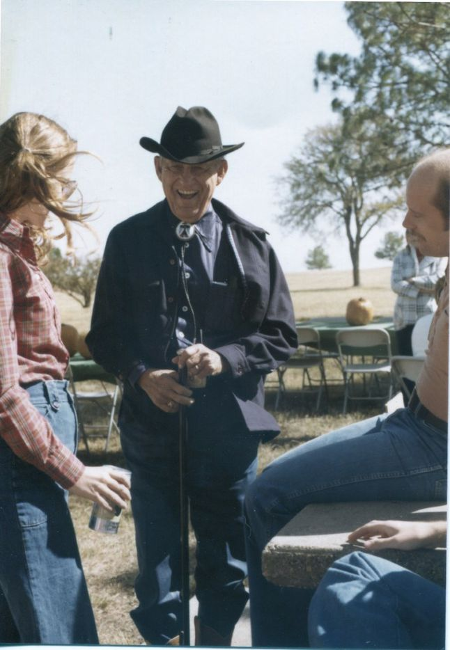 An undated photo of Toddie Lee Wynne at his Star Brand Ranch in Kaufman County.