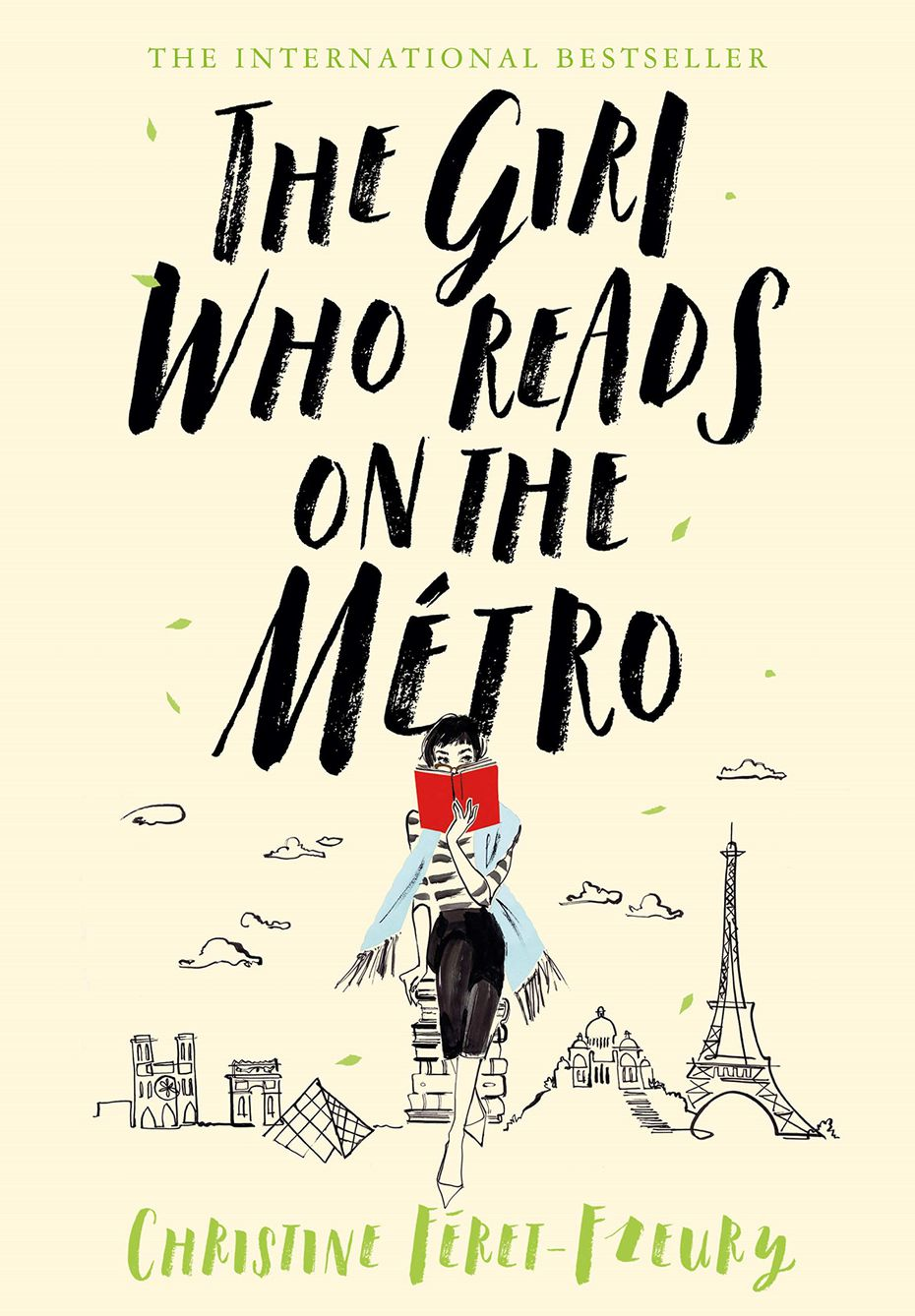 """The Girl Who Reads on the Métro"" by Christine Feret-Fleury is a quirky love letter to books."