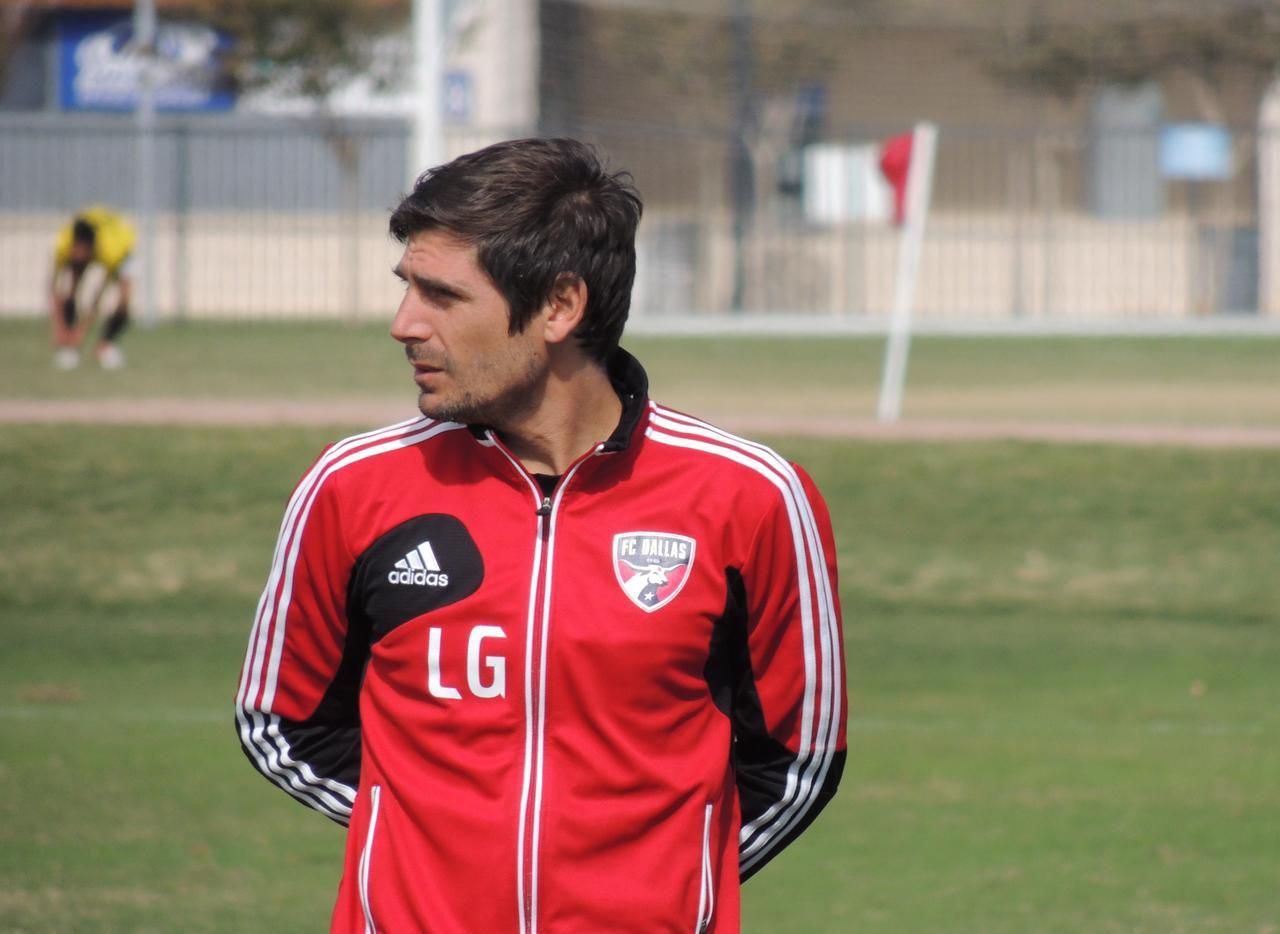 Luchi González fue nombrado director de la academia del FC Dallas el 1 de octubre.