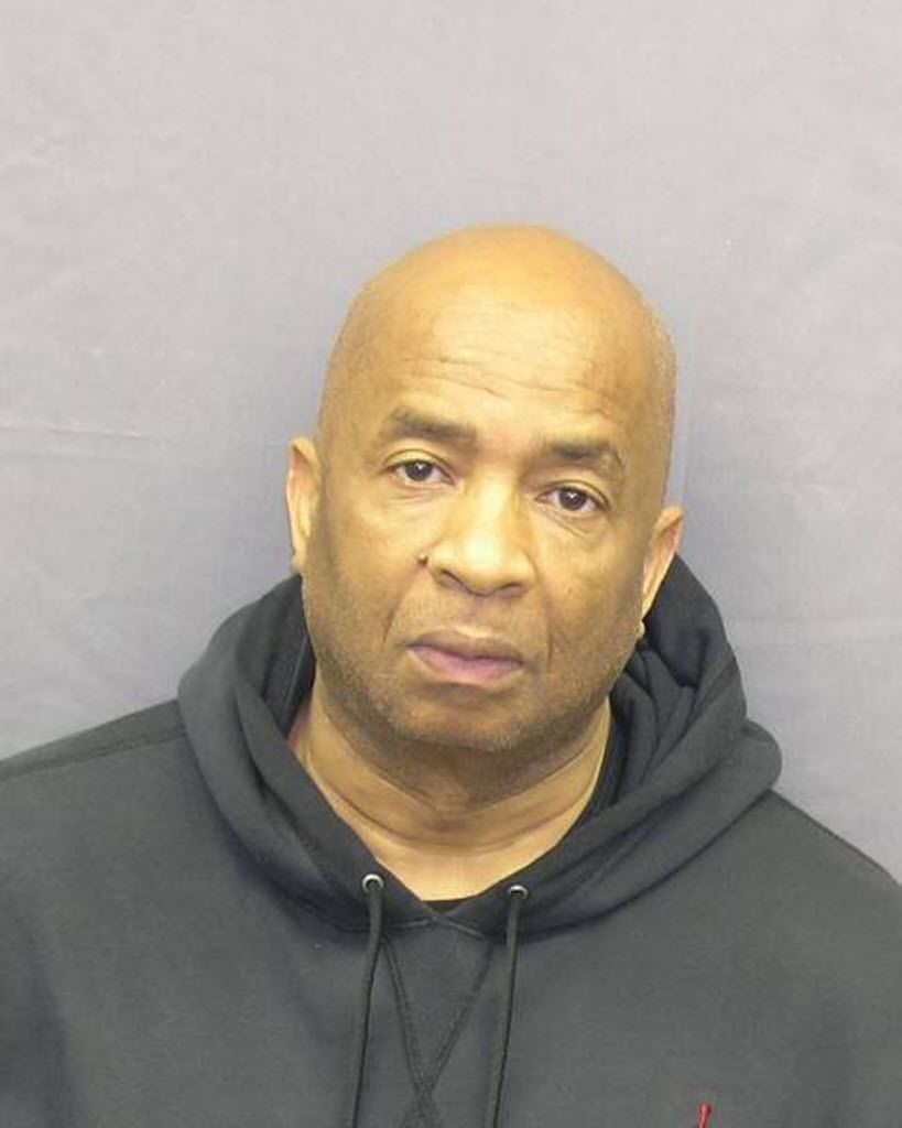 This is a February 2012 booking photo of Wilbert Veasey Jr.
