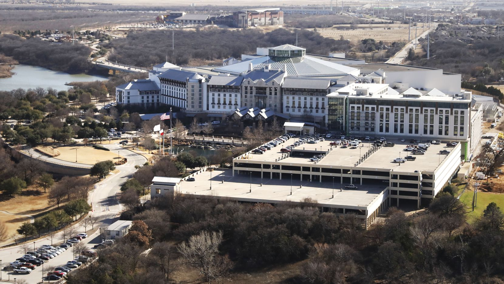 The Gaylord Texan Resort Hotel & Convention Center in Grapevine was ranked as the second most popular U.S. meeting hotel.