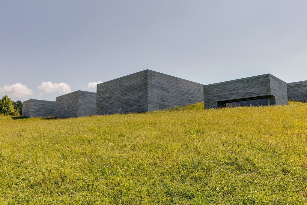 The Glenstone museum sits on 230 landscaped acres in Potomac, Md.
