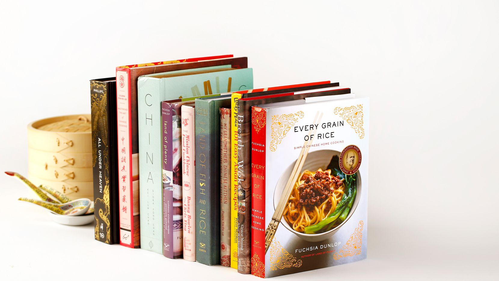 These 10 Chinese cookbooks are our favorites for inspiration and instruction. (Tom Fox/The Dallas Morning News)
