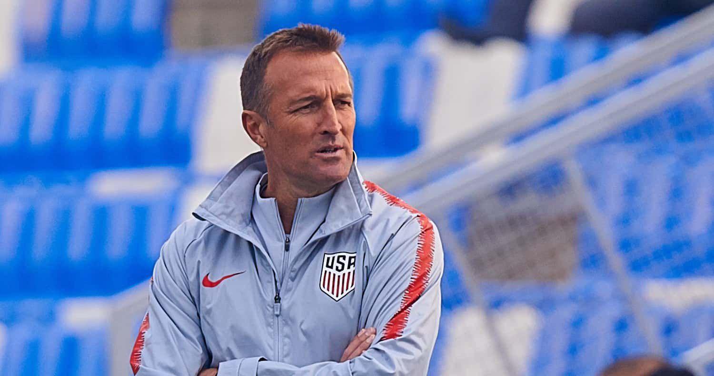 US U23 coach Jason Kreis