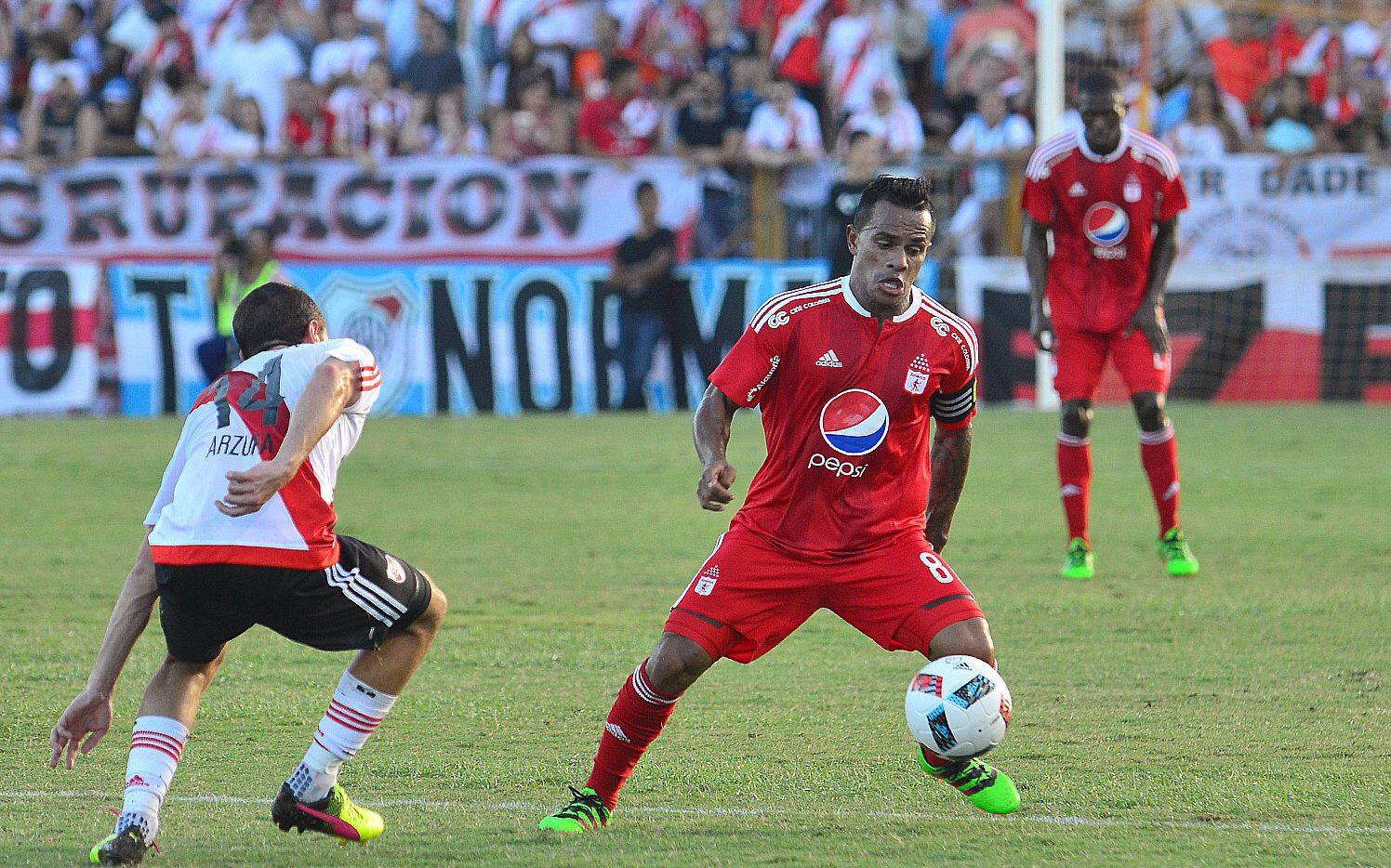 David Ferreira juega desde la campaña pasada con el América de Cali, recién ascendido a la primera división de Colombia. / CORTESIA AMERICA DE CALI