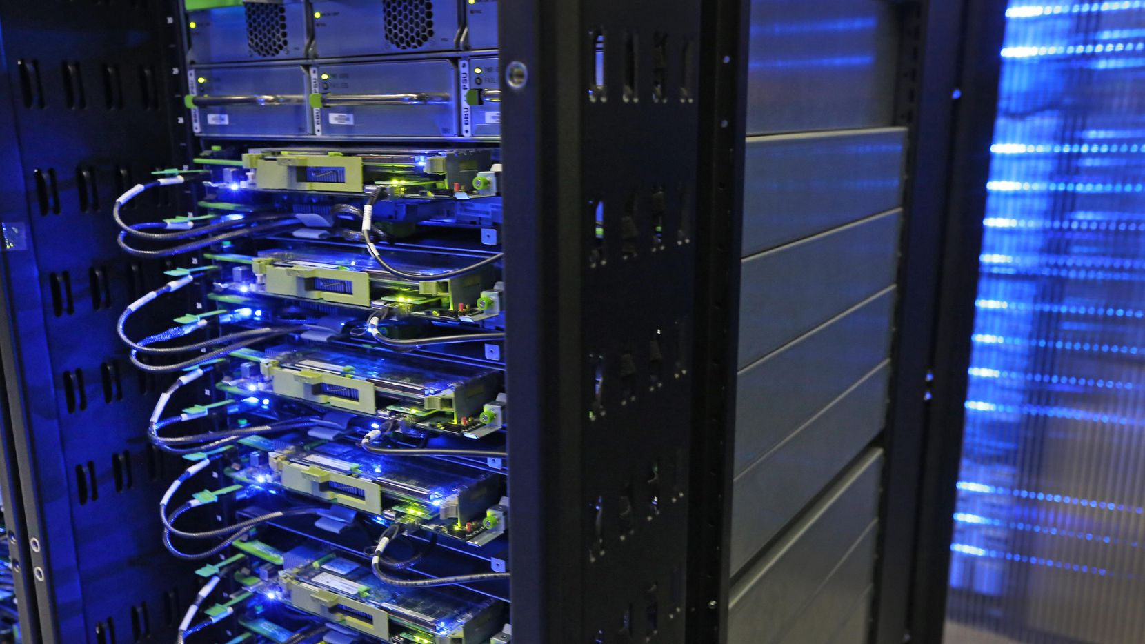 The new data center would be built by developer KDC.  (Louis DeLuca/The Dallas Morning News)