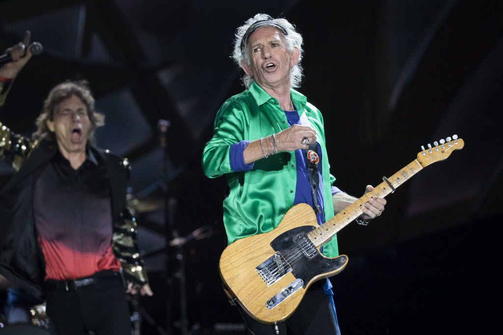 Keith Richards doing his thing.