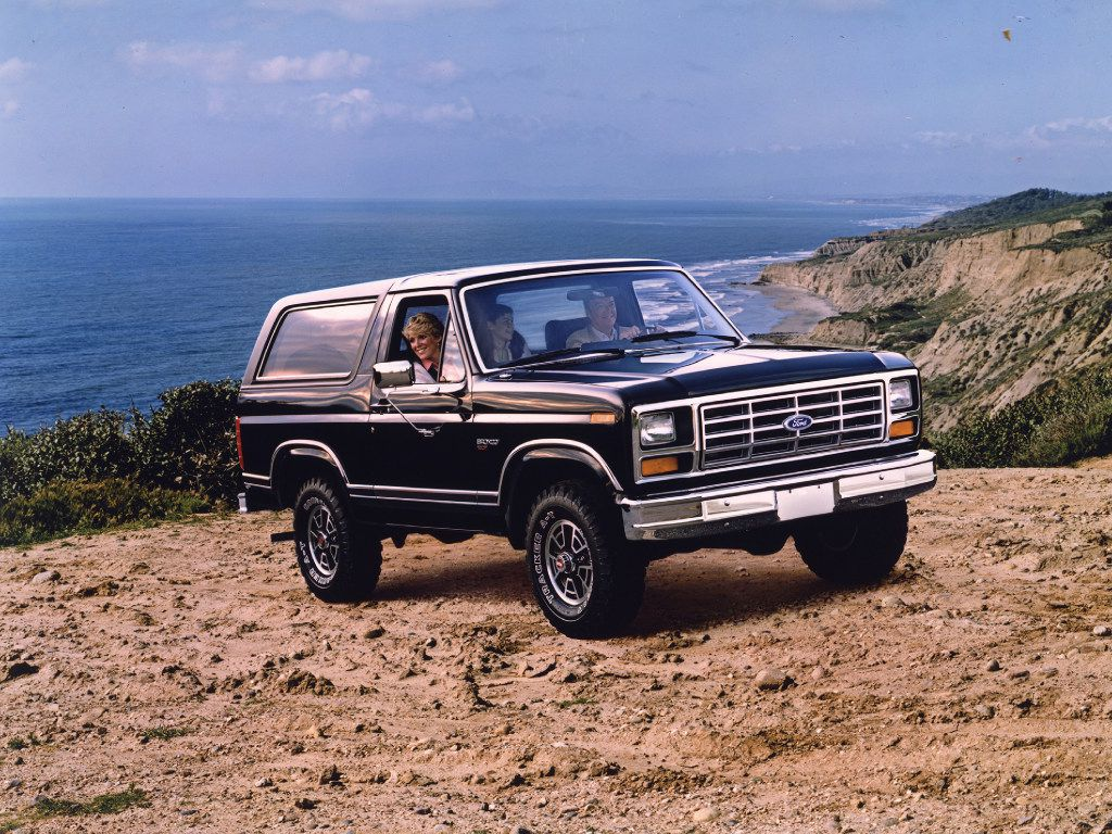 1983 Ford Bronco.