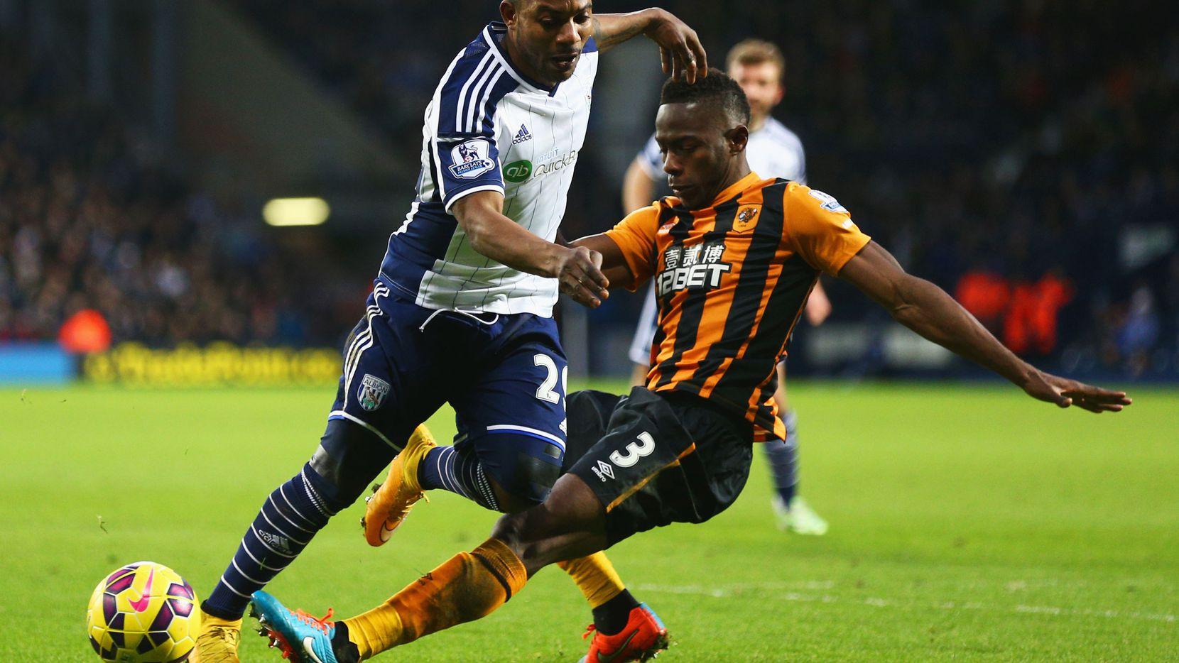 Maynor Figueroa (3) jugó en la Liga Premier con el Wigan y el Hull City. / Fotos:  Getty Images
