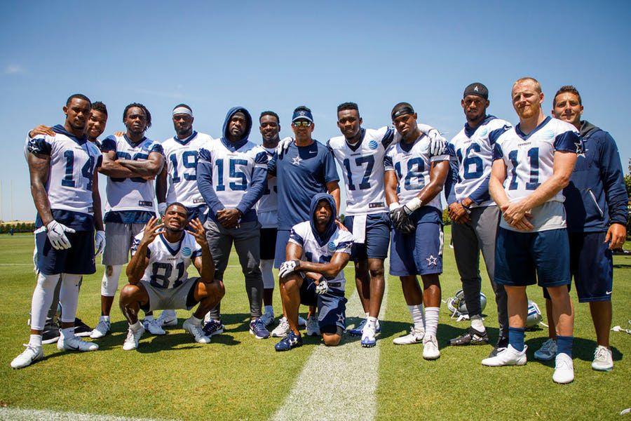 Los Dallas Cowboys tienen siete receptores abiertos en su nómina, tras la llegada de Brice Butler. Foto DMN