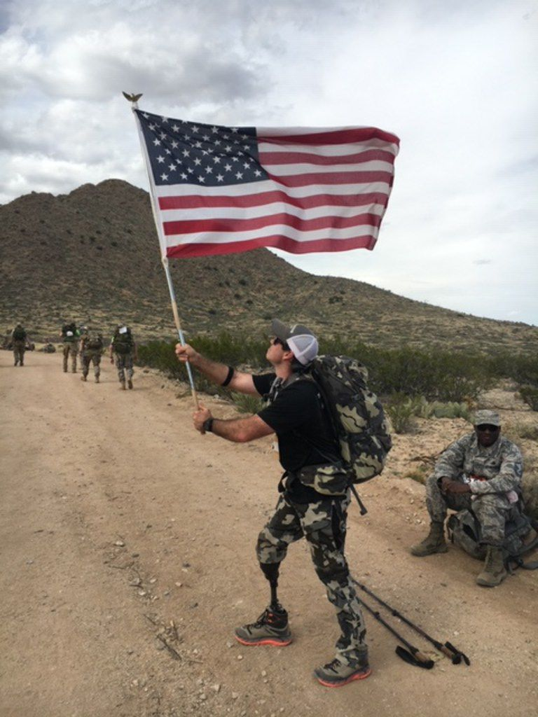 John Wayne Walding, a former Green Beret Special Forces soldier from Frisco, is preparing to run in the BMW Dallas Marathon. It'll be his first marathon since losing part of his leg in the Battle of Shok Valley in Afghanistan. In 2017, he tackled the Bataan Memorial Death March, a marathon walk, while wearing a 50-pound pack to commemorate the World War II Bataan Death March.