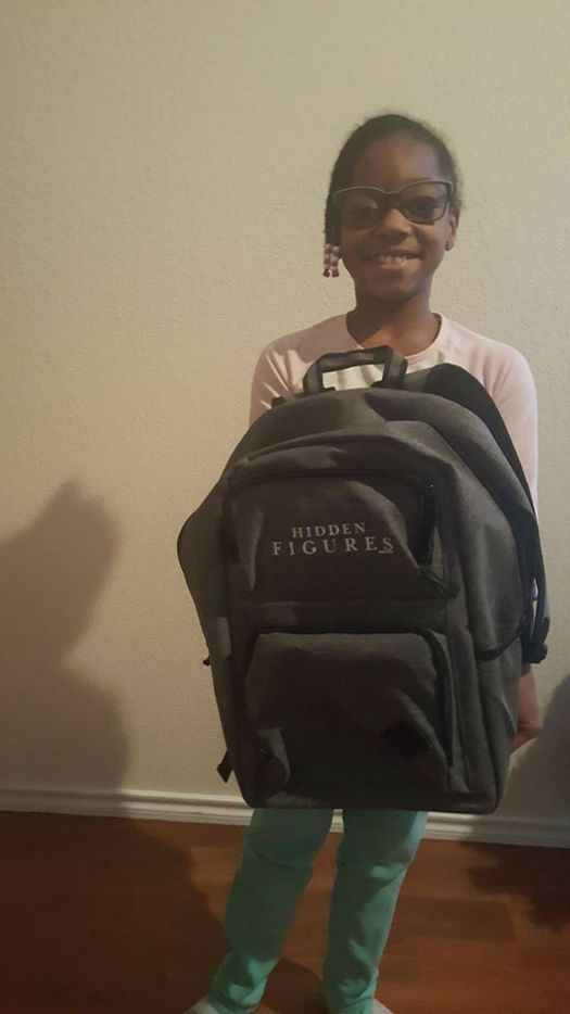 Naima Pressley, 9, a student at Ruby Shaw Elementary in Mesquite, wants to be the next Katherine Johnson, her mother says.