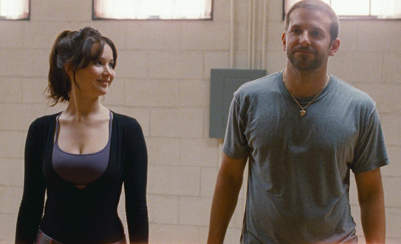 "Jennifer Lawrence y Bradley Cooper en ""Silver Linings Playbook"" (MCT/THE WEINSTEIN COMPANY)"