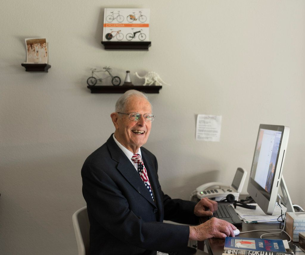 Gilbert Clift, a resident at C. C. Young Senior Living and a World War II veteran, writes about his service in Germany.
