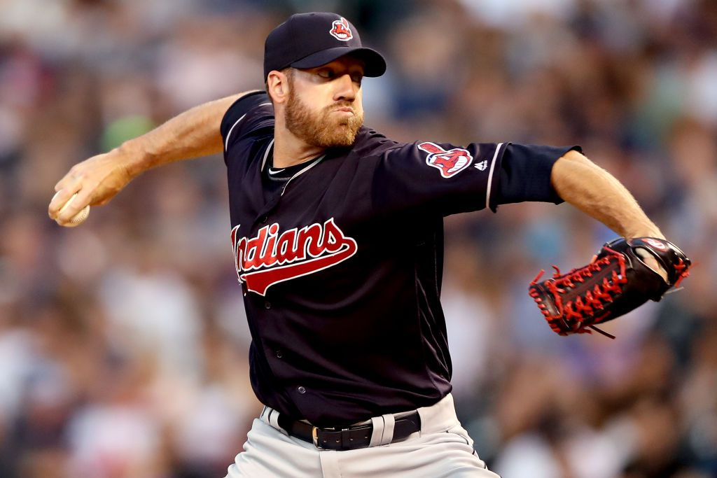 DENVER, CO - JUNE 06:  Pitcher Zach McAllister #34 of the Cleveland Indians throws in the fifth inning against the Colorado Rockies at Coors Field on June 6, 2017 in Denver, Colo.  (Photo by Matthew Stockman/Getty Images)
