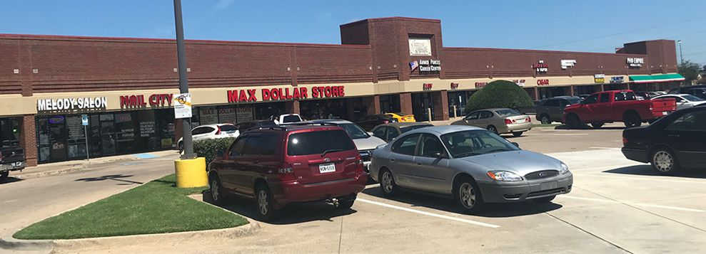 The Towne North shopping center in Irving sold for $17 million.