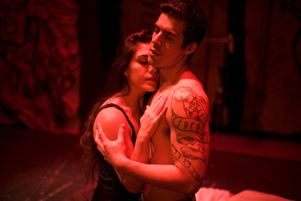 Solange Merdinian and Luis Alejandro Orozco in the Lexington Philharmonic's production of María de Buenos Aires. Both will return for the Fort Worth Opera Festival production.