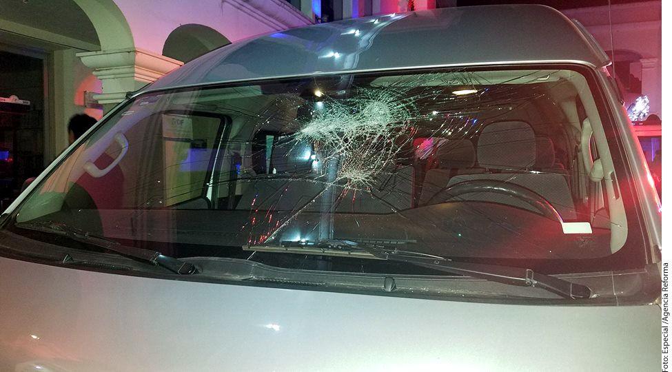 Miembros del grupo Los Askis fueron agredidos con piedras el domingo cuando se dirigían a concierto en San Nicolás de los Ranchos, Puebla./AGENCIA REFORMA