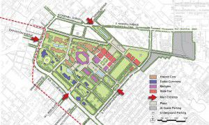 Fair Park as envisioned by Boston-based urban designer Antonio Di Mambro