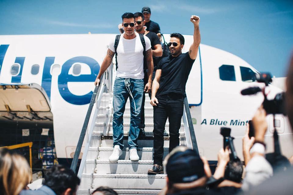 Ricky Martin, Luis Fonsi, Nicky Jam y más famosos boricuas llegaron a la isla para ayudar/ FOTO TOMADA DE FACEBOOK