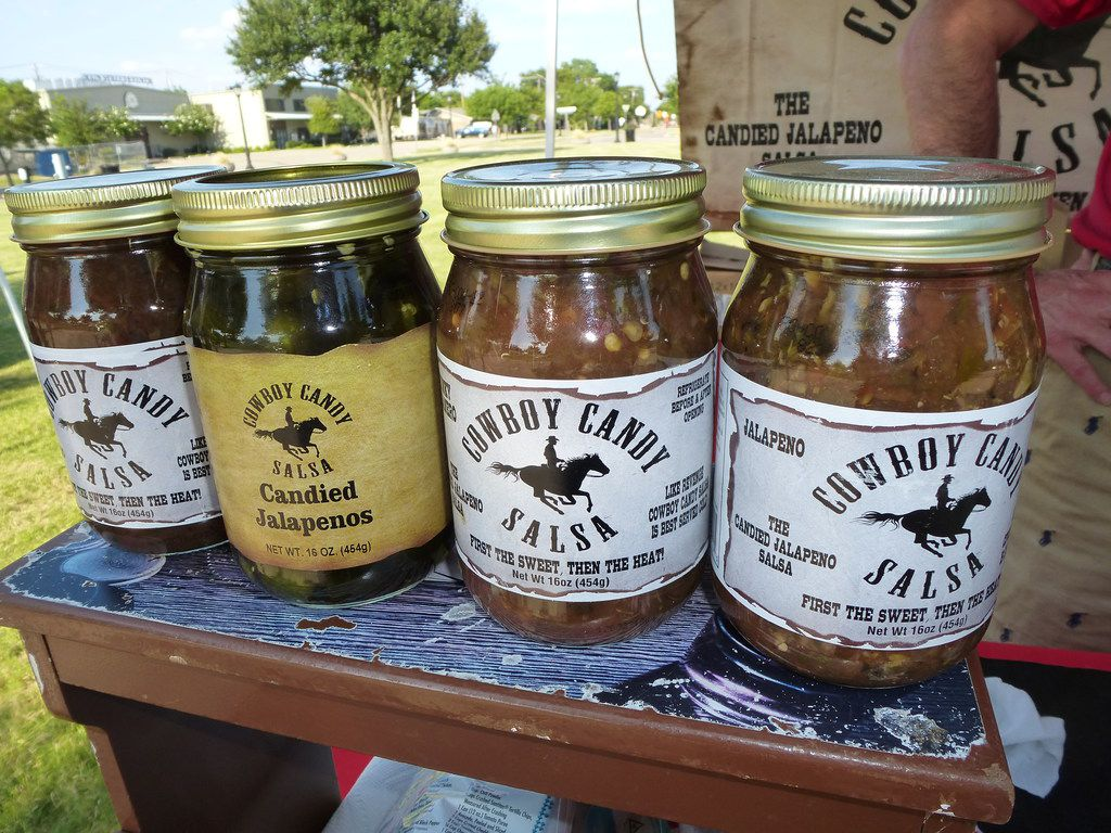 Tim Lane's Cowboy Candy Salsa was recently added to the Central Market lineup, but he still sells at area farmers markets, including Rowlett.