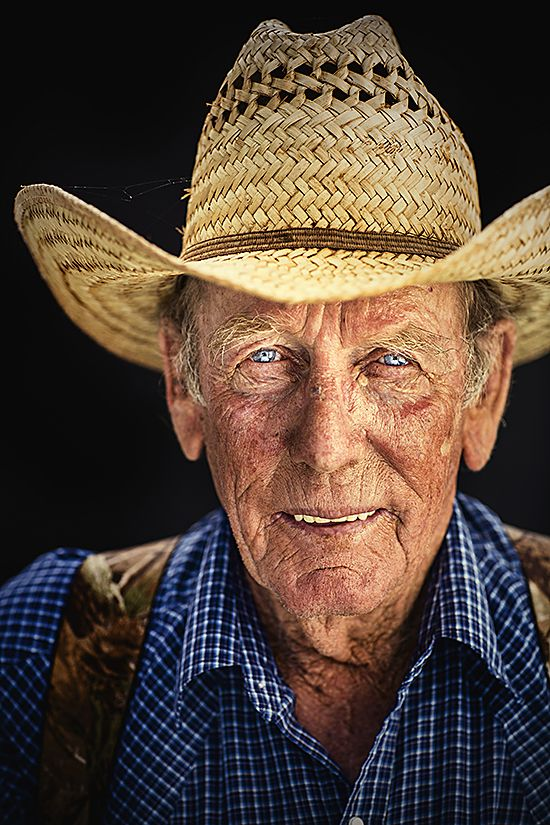 """Bobby Daniel Waggoner Cowboy since 1965 Bobby Daniel came to the Waggoner Ranch from the Halsell Ranch in 1965. He has three brothers and a bunch of nephews that work at the Waggoner Ranch. When he first came, he worked seven days a week, rather than the five and one-half days cowboys work now. """"I always wanted to work here,"""" he says."""
