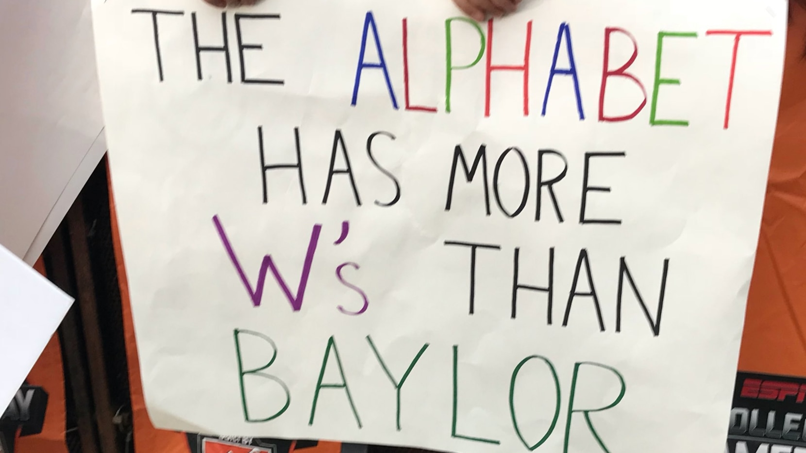 ESPN came to Fort Worth, and TCU fans didn't hold back with