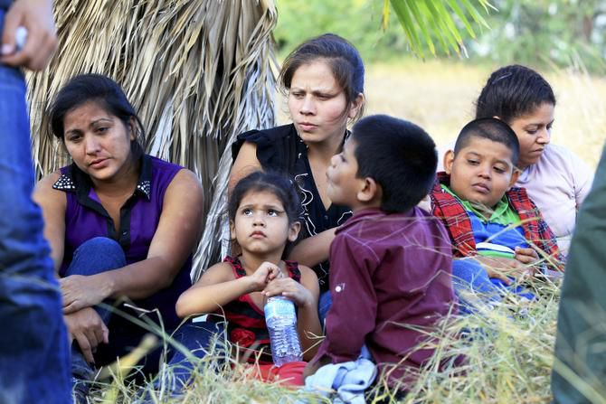 A group of 22 migrants, mostly women and children from Honduras and Guatemala, was taken into custody just after crossing the Rio Grande near McAllen on June 18. The criminal gangs that now control much of the human smuggling here often tell women and children — falsely — they will be permitted to stay upon turning themselves in.