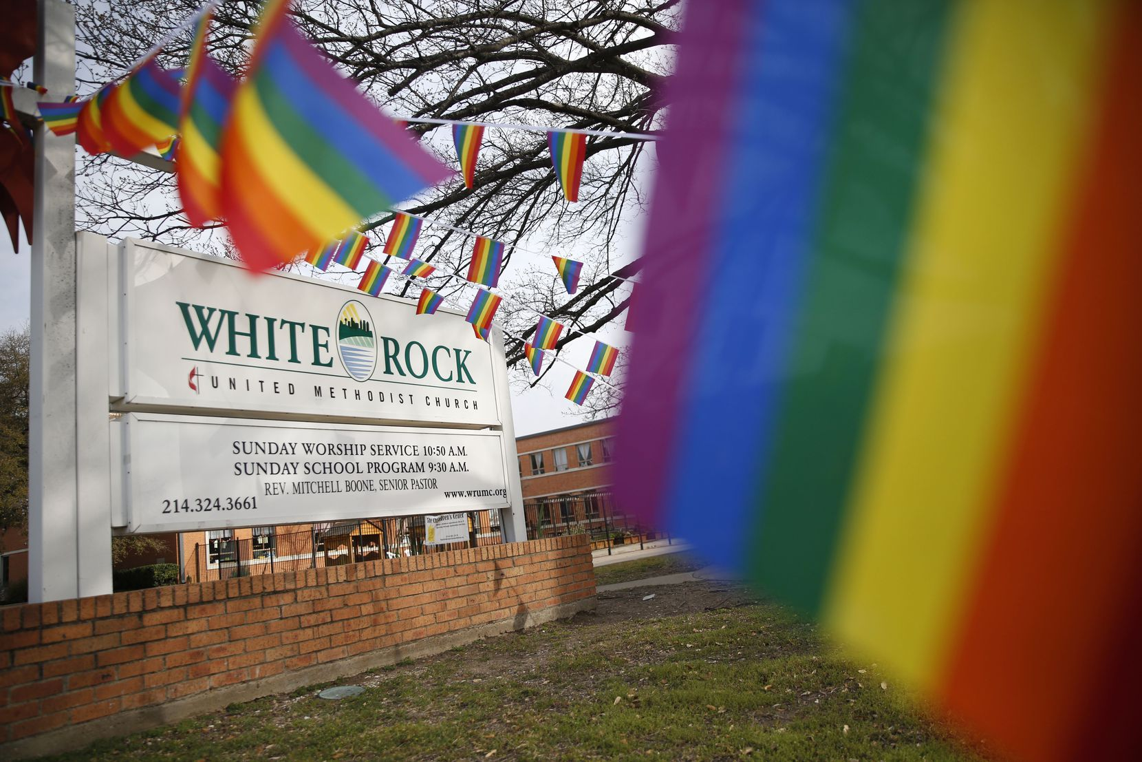 White Rock United Methodist Church in Dallas is revising its wedding policy to make it more inclusive in the aftermath of the anti-LGBTQ vote.
