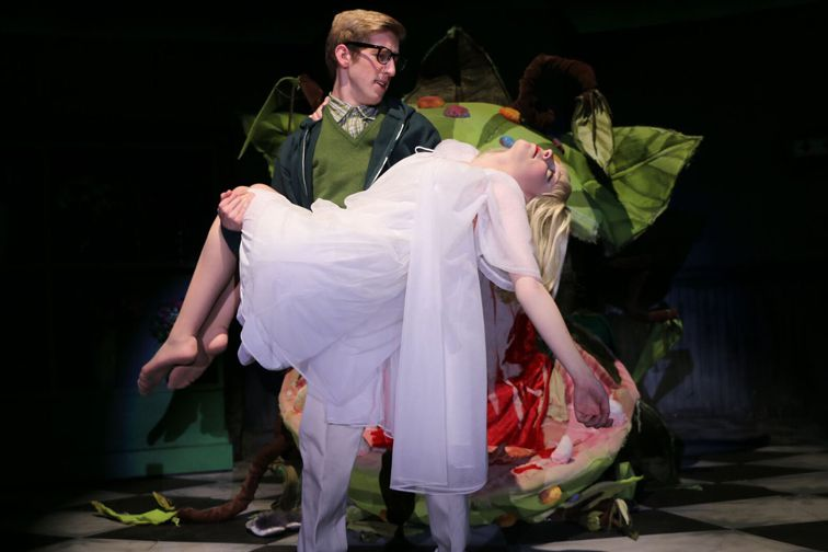 Little Shop of Horrors, presented by Forney High School in Forney, was one of the eight nominees for Best Musical in the seventh annual Dallas Summer Musicals High School Musical Theatre Awards.