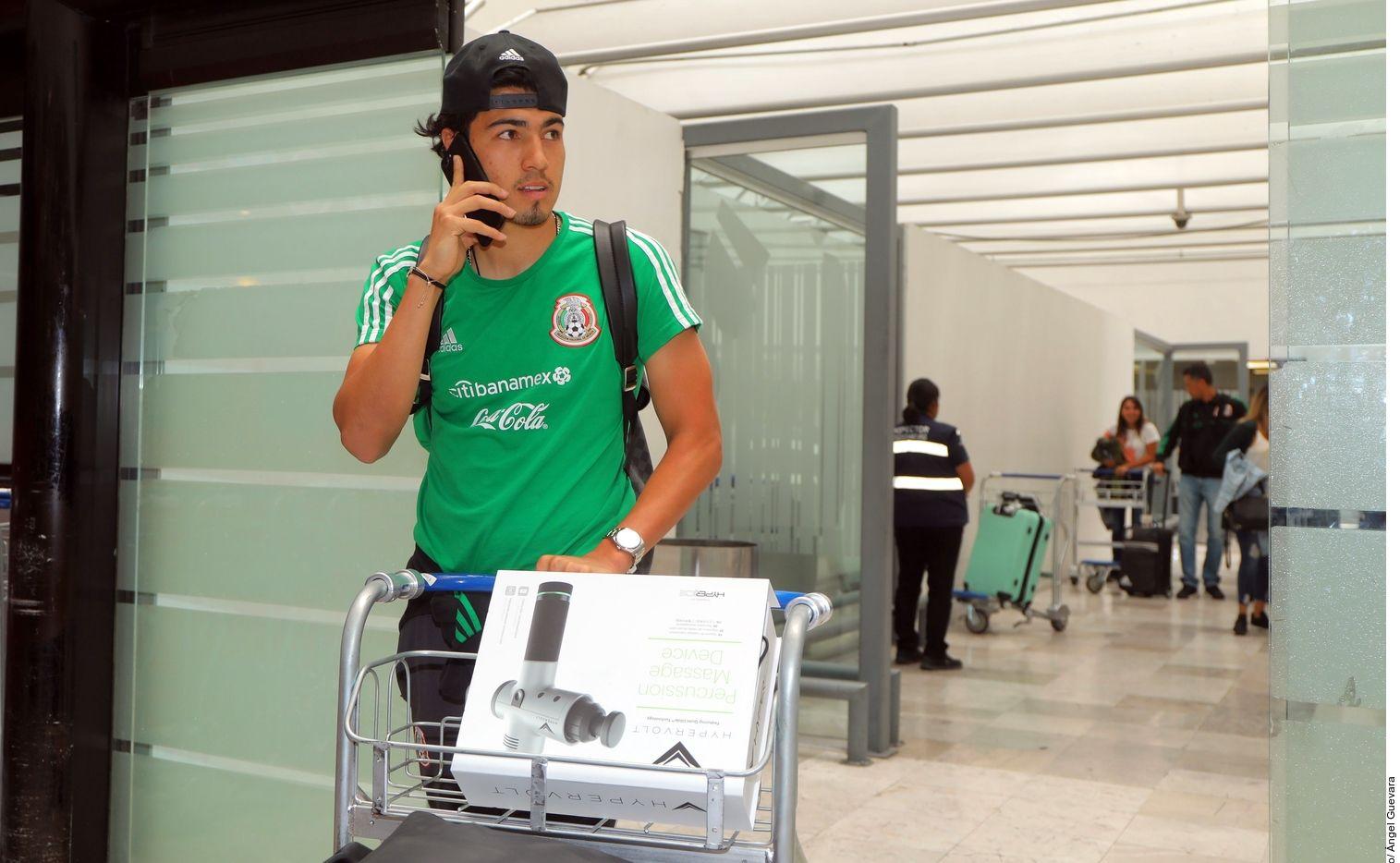 Erick Gutiérrez será operado y se pierde el juego de México vs. Argentina en San Antonio.