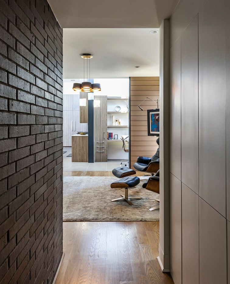 Interior View, Wateka Drive house on AIA Home Tour, Domiteaux and Baggett Architects
