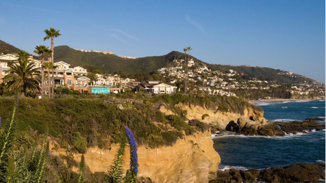 Mark Cuban's new California home is said to be on the grounds of The Montage in Laguna Beach, a five-star resort about an hour south of Los Angeles.