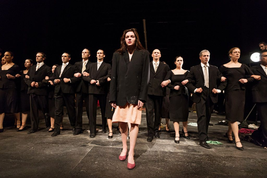 In the late choreographer Pina Bausch's The Seven Deadly Sins, Stephanie Troyak is on stage for 40 straight minutes being knocked around by the rest of the cast. Afterward, she's bruised and blistered and heads for an Epsom salt bath. Nevertheless, the work makes her feel happy and fulfilled.
