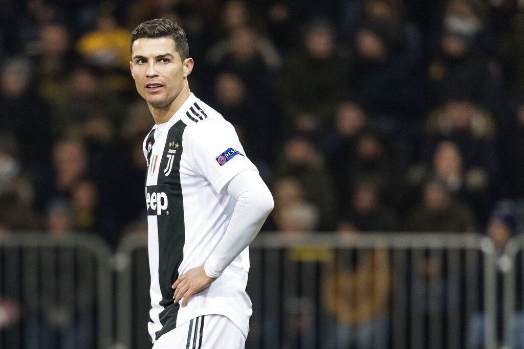 En esta imagen del 12 de diciembre de 2018, el delantero de la Juventus Cristiano Ronaldo durante un juego de la Liga de Campeones en Berna, Suiza. (Alessandro della Valle/Keystone via AP, Archivo)