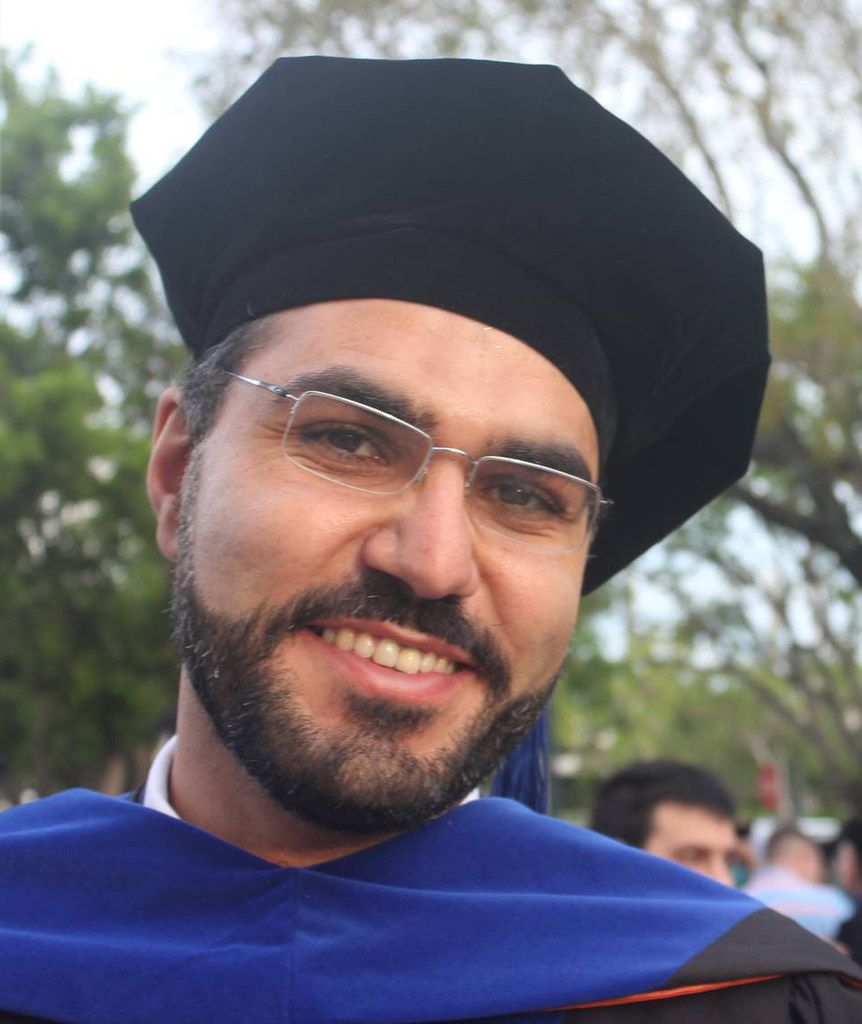 Saeed Moshfegh is an Iranian who's getting his Ph.D. in physics at the University of Miami.