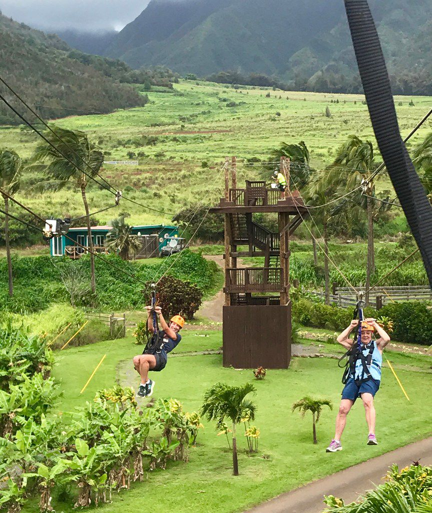 Multigenerational travel can be surprising. In May 2018,  writer Sheryl Jean's then-74-year-old mother decided to try ziplining on a trip to Maui with her.