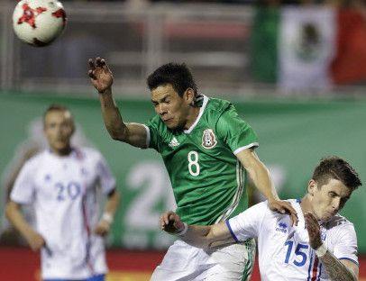 Hirving Lozano y el Tri disputarán un amistoso en junio en Houston.  Foto AP