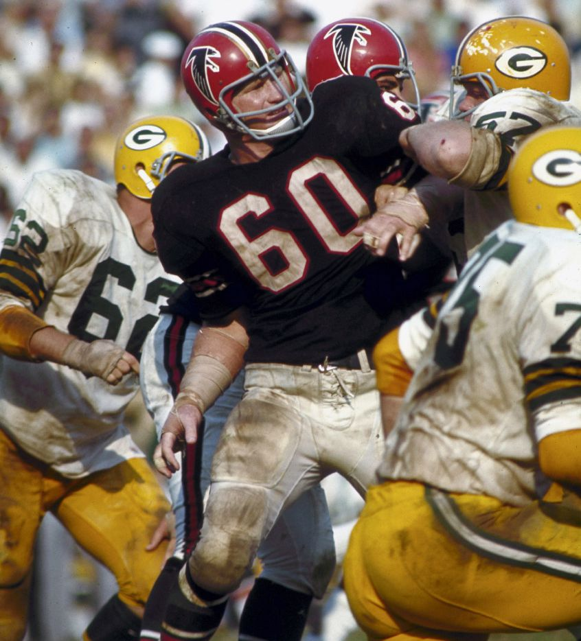 premium selection 70610 6d40c Football took a terrible toll on Tommy Nobis, but self-pity ...