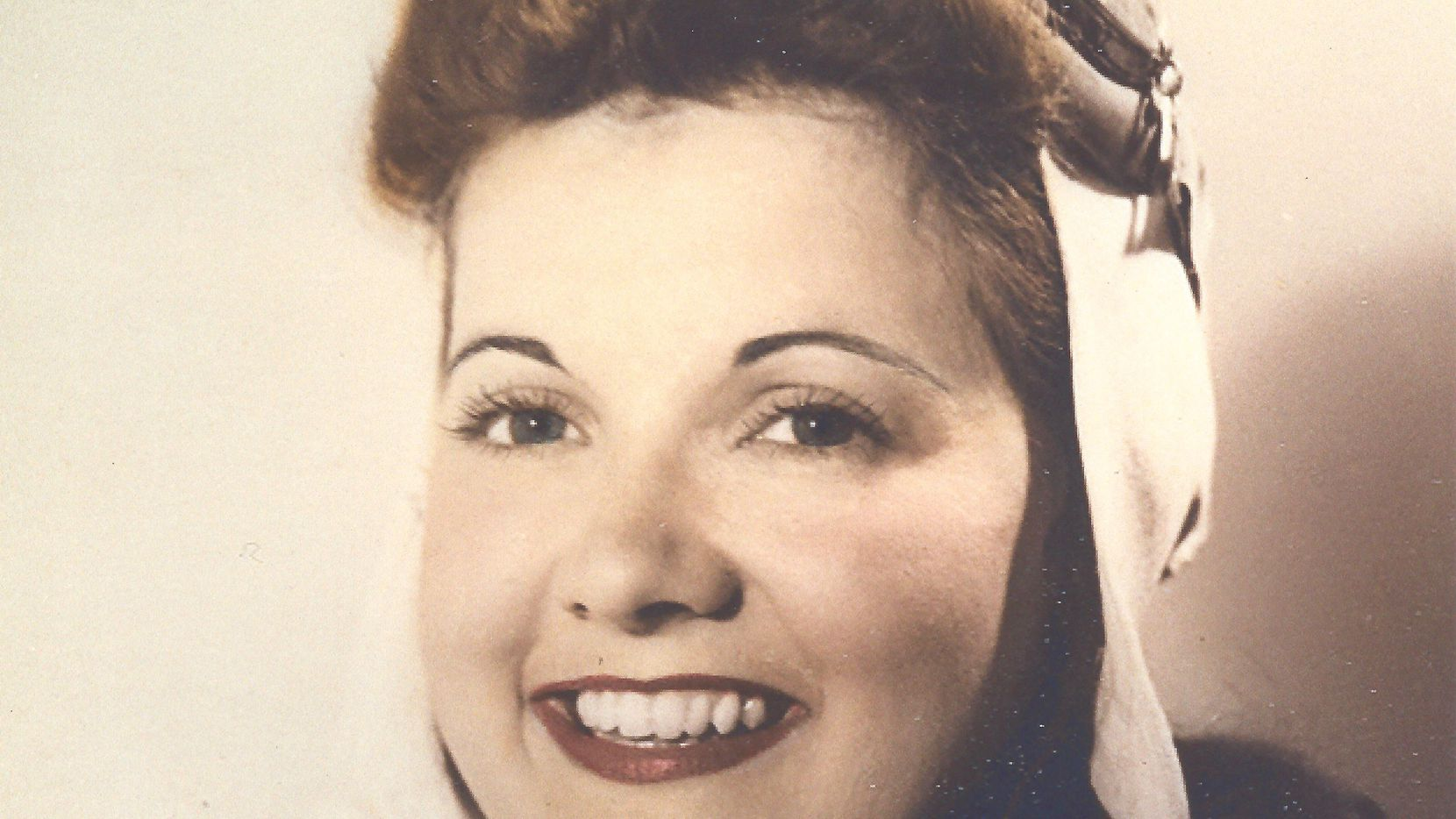 Elaine Harmon pictured in 1944 wearing her bomber jacket. Harmon was a member of the Women Airforce Service Pilots, or WASP, during World War II. On Tuesday, Nov. 13, Harmon's granddaughter Erin Miller will be in Austin to testify against the Texas State Board of Education's decision to eliminate the WASP from the public school social studies curriculum.