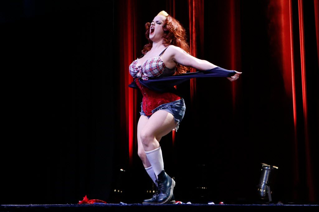 Vivienne Vermuth will do her burlesque show on Aug. 11 at Viva's Lounge before Folsom takes the stage as Lenny Bruce.