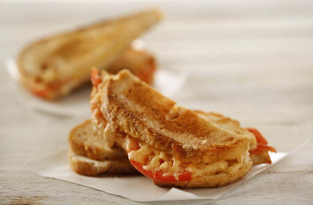 Remedy's Grilled Cheese from Remedy restaurant in Dallas.  Photographed in the DMN Studio, Wednesday, February 25, 2015. (food styling by Jane Jarrell, photography by Tom Fox/The Dallas Morning News) 03112015xARTSLIFE 03112015xBRIEFING