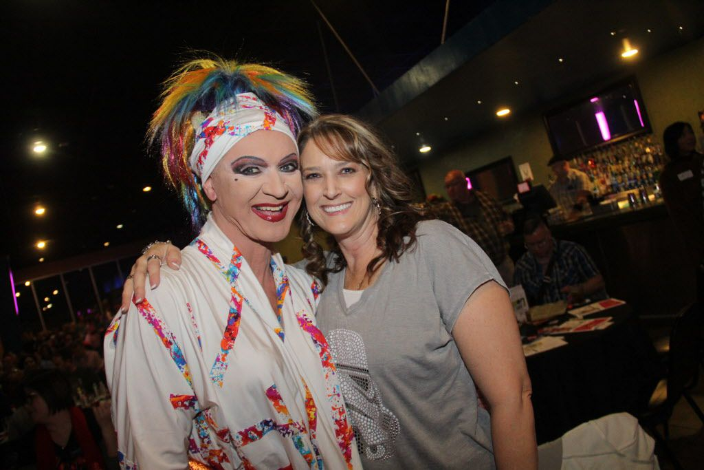 Gaybingo was held at S4 on Cedar Springs on Jan 16, 2016. Gaybingo combines drag, dance, and comedy into bingo. As an event of Resource Center, the funds raised directly benefit the programs and services of the Center. Patti Le Plae Safe and Tonya Henderson