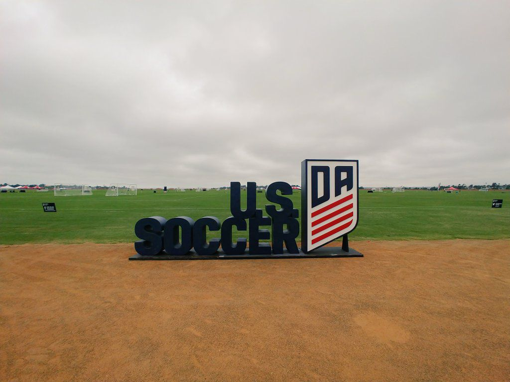 The 2019 US Development Academy Players at the SoCal Sports Complex in Oceanside, California.