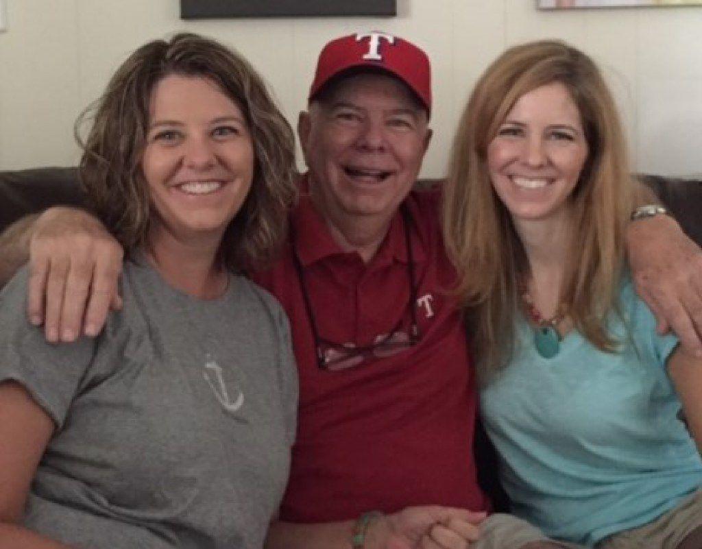 From left: Karen Knight, Don Knight and Kimberly Watts.