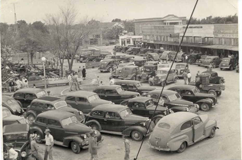 Downtown Celina in 1942.