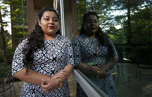 Gabriela Castillo está dispuesta a seguir luchando por una vía a la ciudadanía. DMN