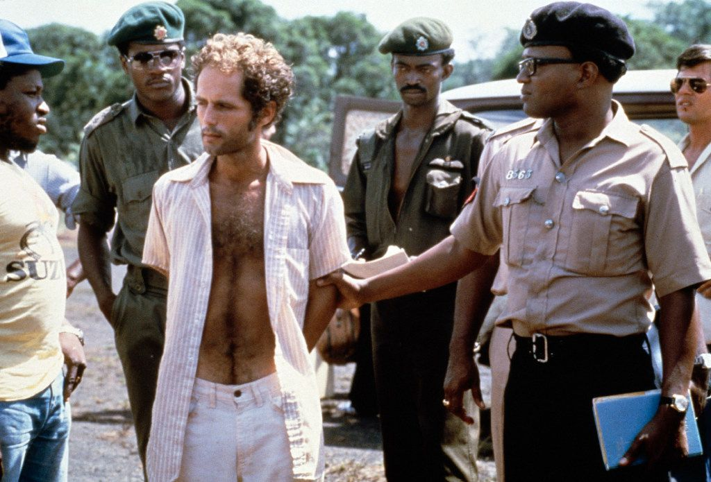 Peoples Temple follower Larry Layton was arrested Nov. 18, 1978, in the shooting of two people on a remote Guyana airstrip. That same day, precipitated by the shootings, over 900 members of the Peoples Temple Cult led by the Rev. Jim Jones died in Jonestown, Guyana, of mass murder and suicide. Larry Layton was convicted in 1986 by a federal jury in San Francisco of conspiring in the 1978 murder of California Congressman Leo Ryan and aiding and abetting in the attempted murder of Richard Dwyer, a U.S. diplomat wounded in the attack. (David Hume Kennerly/Getty Images)