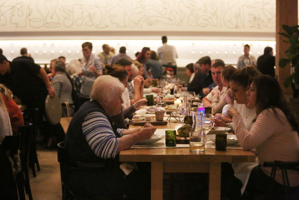 The main dining room at Sixty Vines